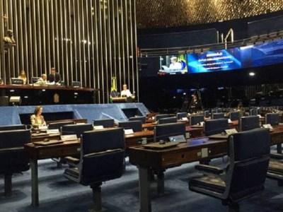 Em dia de greve geral, Senado faz sessão de debates com apenas dois parlamentares