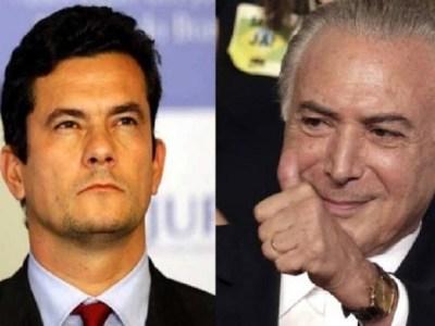 Michel Temer e Sérgio Moro são condecorados pelo Exército