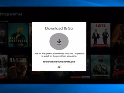 Netflix libera download de filmes e séries no computador
