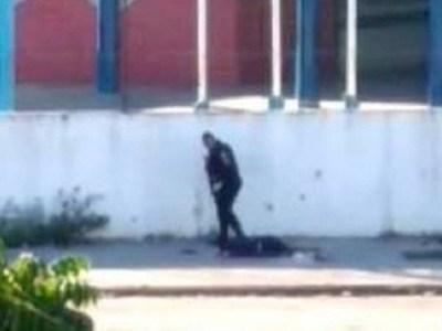 PMs flagrados em execução no Rio alegam ameaça; delegado contesta
