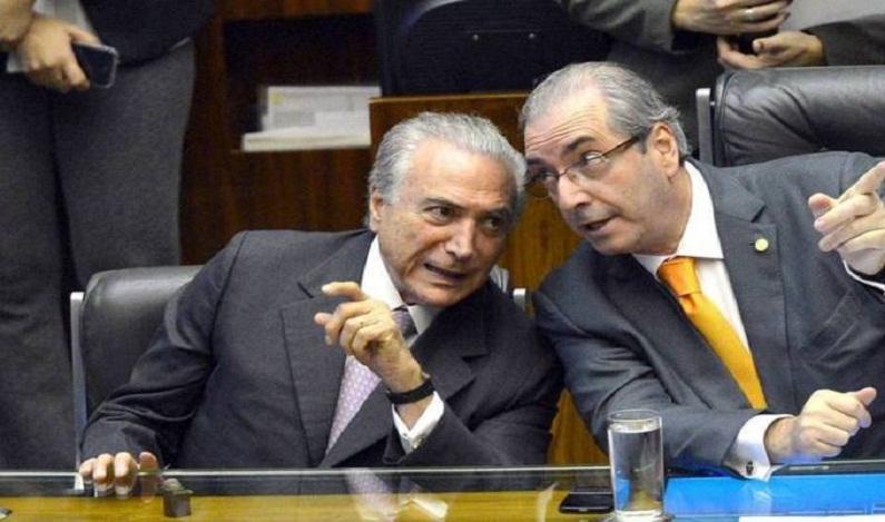 Desejo a maior felicidade para ele, diz Temer sobre Cunha