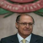 Os grandes nomes para eleição indireta são FHC e Tasso, diz Alckmin