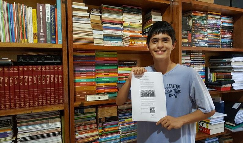Estudante de RO é aprovado em Harvard e em outras três universidades dos EUA