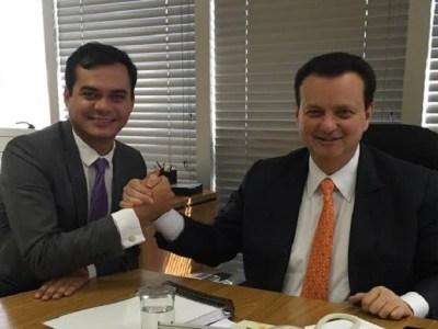 Expedito Netto e Ministro Kassab anunciam satélite que levará internet a 100% do país