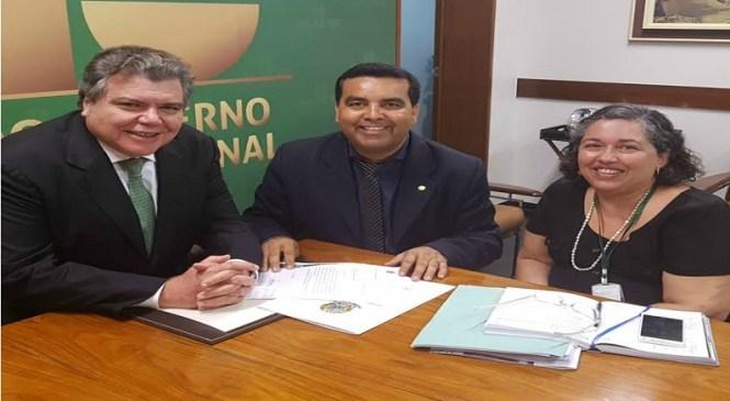 Lindomar Garçon se reúne com Ministro do Meio Ambiente e Presidente do IBAMA, por apoio a Itapuã