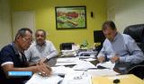 Luiz Cláudio articula com prefeitura a manutenção de trechos urbanos das BRs 364 e 319