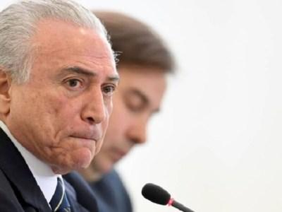 Pedido de investigação contra Michel Temer chega a PGR