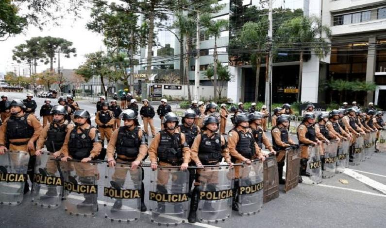 Operação da PM em depoimento de Lula custou R$ 110 mil ao Paraná
