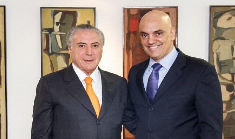 Aécio relata conversa com Moraes para travar Lava Jato
