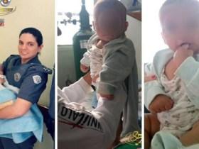 Bebê é encontrado em lixeira em cidade da Grande SP