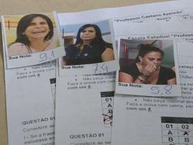 Professor de BH usa imagens de memes da Gretchen na correção de provas