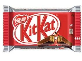 Nestlé perde processo por registro do formato do chocolate Kit Kat