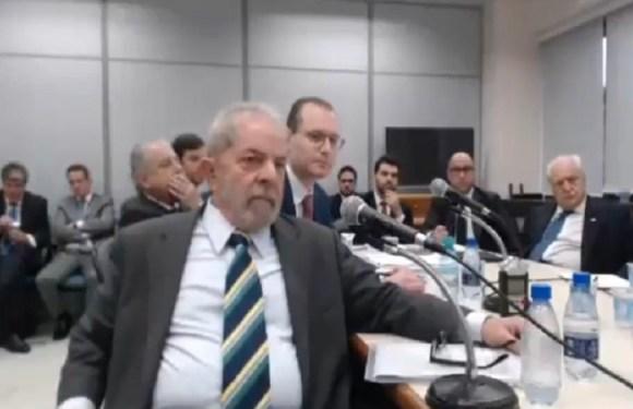 Assista à íntegra do depoimento de Lula à Sérgio Moro
