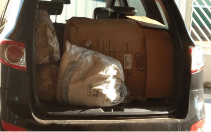 Polícia Federal apreendeu diversos objetos, em duas fazendas em estados da Região Centro-Oeste, Norte e Nordeste (Foto: Polícia Federal/Assessoria)