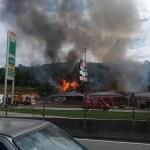 Incêndio em restaurante deixa feridos no Rio de Janeiro