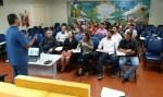 Deputado Edson Martins visita Escola do Legislativo
