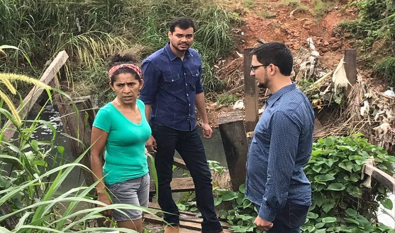 Pedido de Expedito Netto é atendido e prefeitura iniciará obras na Ponte Costa e Silva