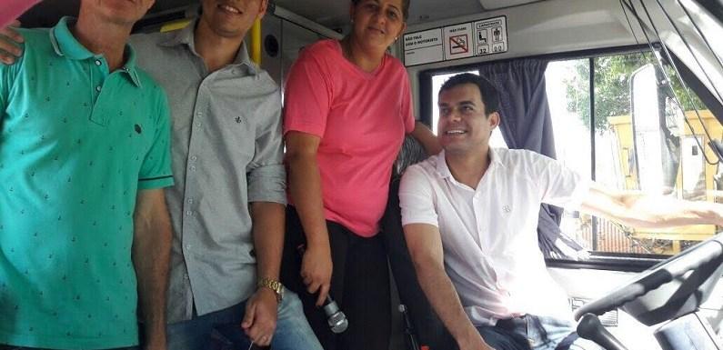 Deputado Expedito Netto entrega obra de pavimentação e micro-ônibus a municípios de Rondônia