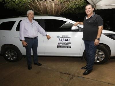 Maurão de Carvalho participa de entrega veículo para casa de apoio da Prefeitura de Cerejeiras