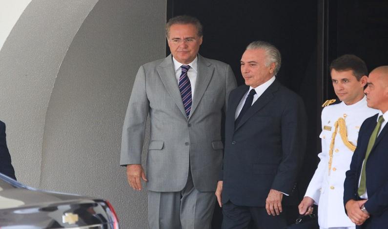 Renan vai deixar liderança do PMDB com discurso crítico a Temer
