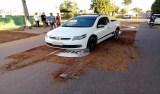 Policial evangélico destrói tapete de Corpus Christi com carro e fiéis se revoltam em RO