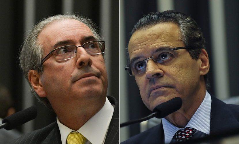 Henrique Alves e Eduardo Cunha são denunciados por corrupção e lavagem de dinheiro