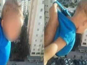 Homem ameaça atirar bebê do 15º andar em troca de 'likes'