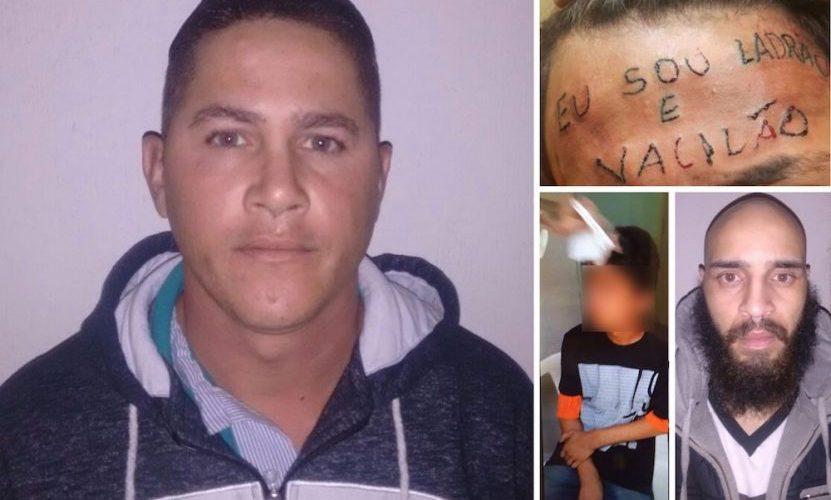 Homem que filmou adolescente sendo tatuado na testa já cumpriu pena por roubo