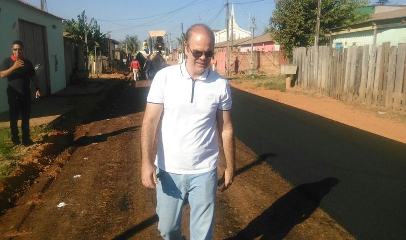 Semusb inicia melhorias na Imigrantes, a pedido do vereador Alan Queiroz