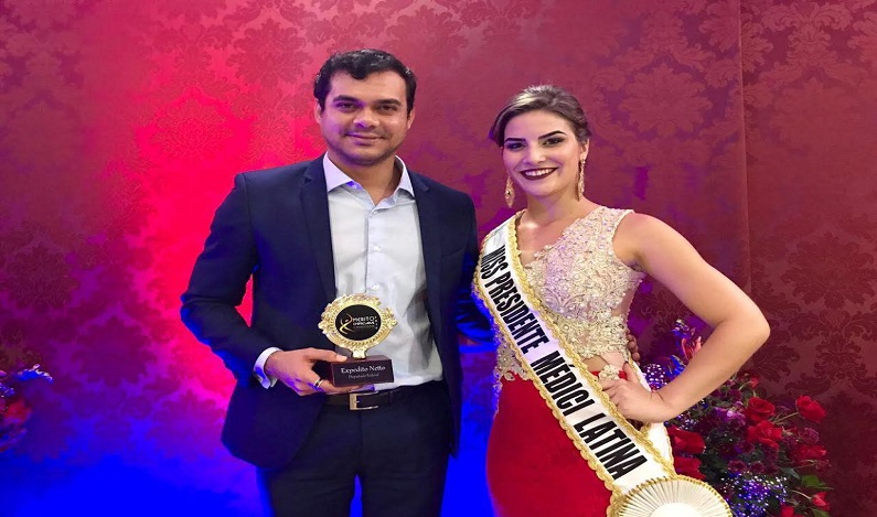 Expedito Netto recebe prêmio de Presidente Médici como melhor deputado do ano