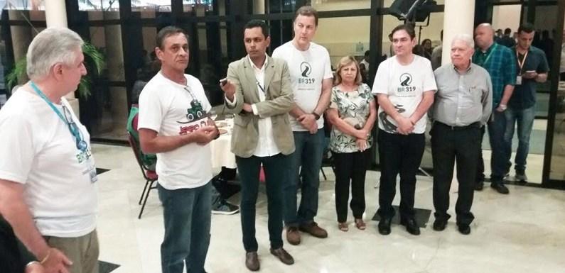 Caravana dos Jornalistas foi recebida com festa em Manaus