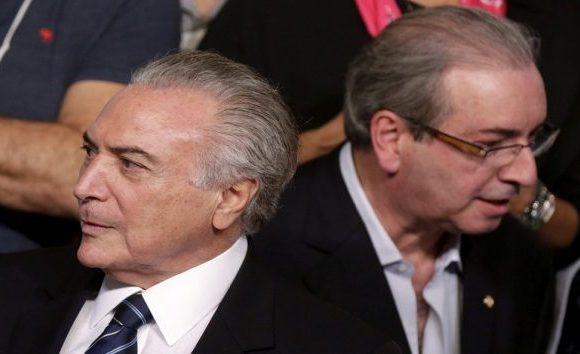PF aponta Temer como cúmplice na compra do silêncio de Cunha