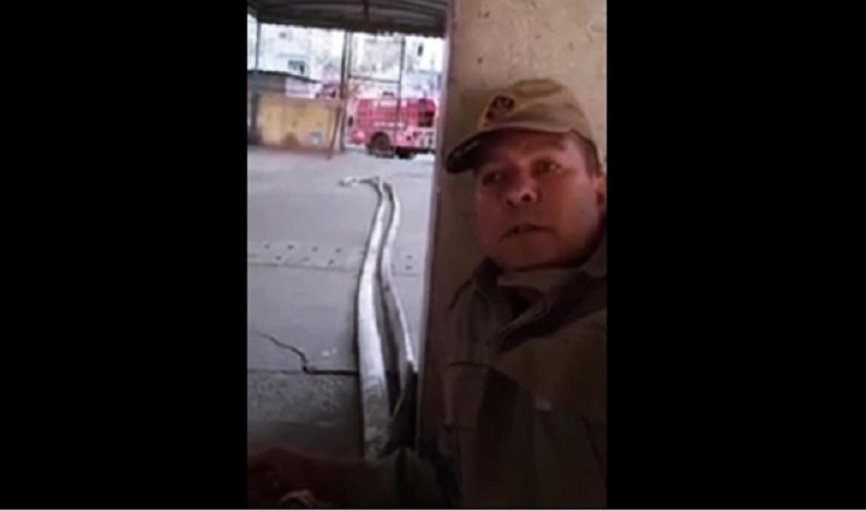 Bombeiro é preso por ter gravado vídeo durante tiroteio em escola no Complexo da Maré
