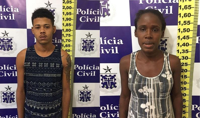 Menina de 9 anos furta celular de professora e pais são presos por tentar extorquir vítima na Bahia