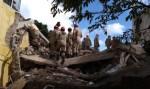 Prédio desaba em Garanhuns (PE); prefeitura trabalha no resgate de vítimas