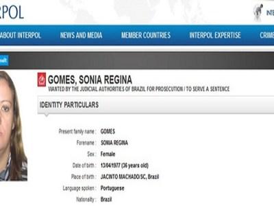 Mulher que já esteve entre os 10 brasileiros mais procurados pela Interpol foge de presídio em RS