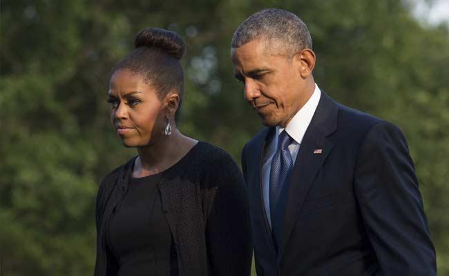 Barack e Michelle Obama estão se separando, afirma site americano