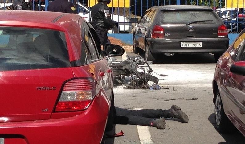 PM reage a tentativa de assalto e mata dois criminosos em mercado no ABC Paulista