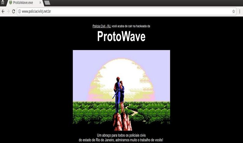 Polícia Civil do RJ tem site alterado por grupo hacker