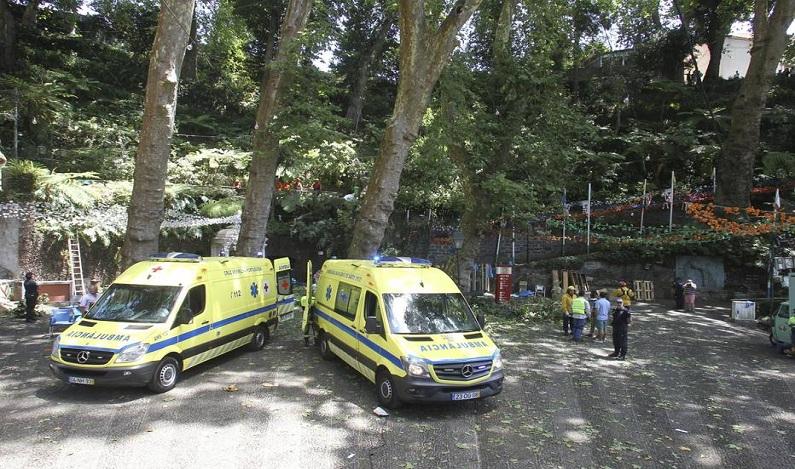 Queda de árvore em evento religioso deixa 11 mortos na Ilha da Madeira, em Portugal