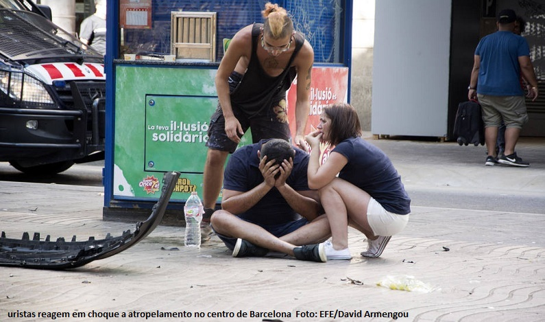 Estado Islâmico reivindica a autoria do ataque em Barcelona