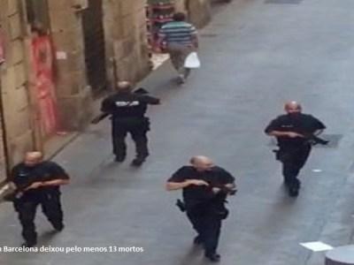 Suspeito de atentado em Barcelona é morto em tiroteio, diz jornal