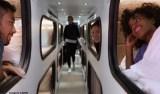 O 'hotel sobre rodas' que pode substituir avião em trajetos médios nos EUA
