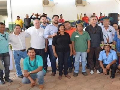 Jean Oliveira participa da inauguração da Casa de Saúde Indígena em Alta Floresta D'Oeste