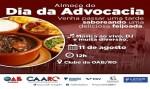 Feijoada marca celebração do Dia da Advocacia em Porto Velho, nessa sexta (11)