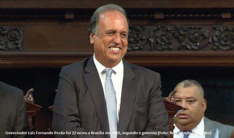 Pezão gastou R$ 1,5 milhão em aluguel de jatos executivos em 2017