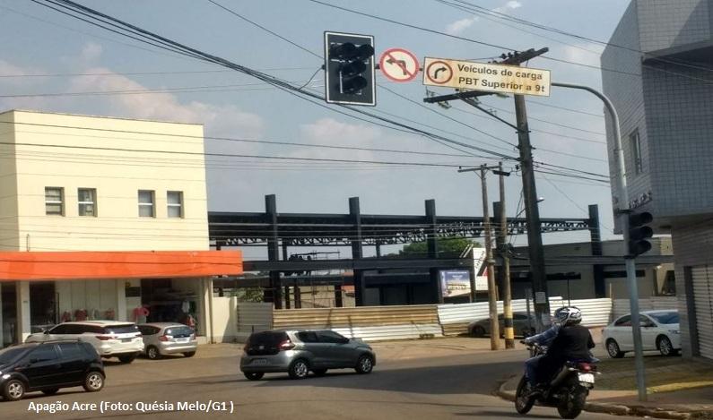 Mais um apagão em menos de 15 dias deixa 11 cidades do Acre e Rondônia sem energia