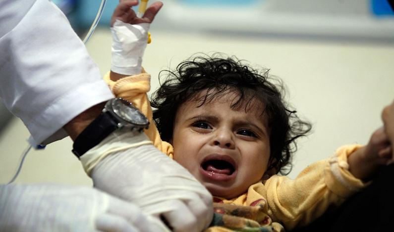 Iêmen já tem meio milhão de casos de cólera, diz OMS