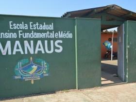Escola Manaus é a primeira de Porto Velho a ter a administração militar implantada