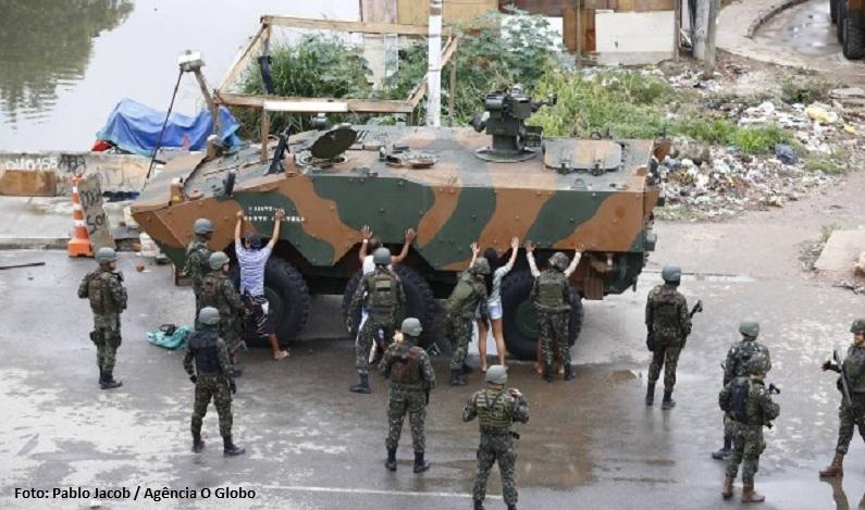 Presença das forças federais no Rio não reduziu indicadores de criminalidade